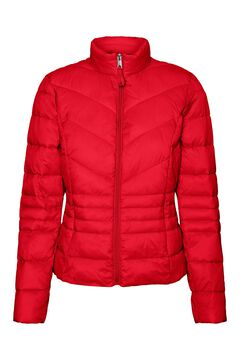 Cortefiel Padded jacket Red