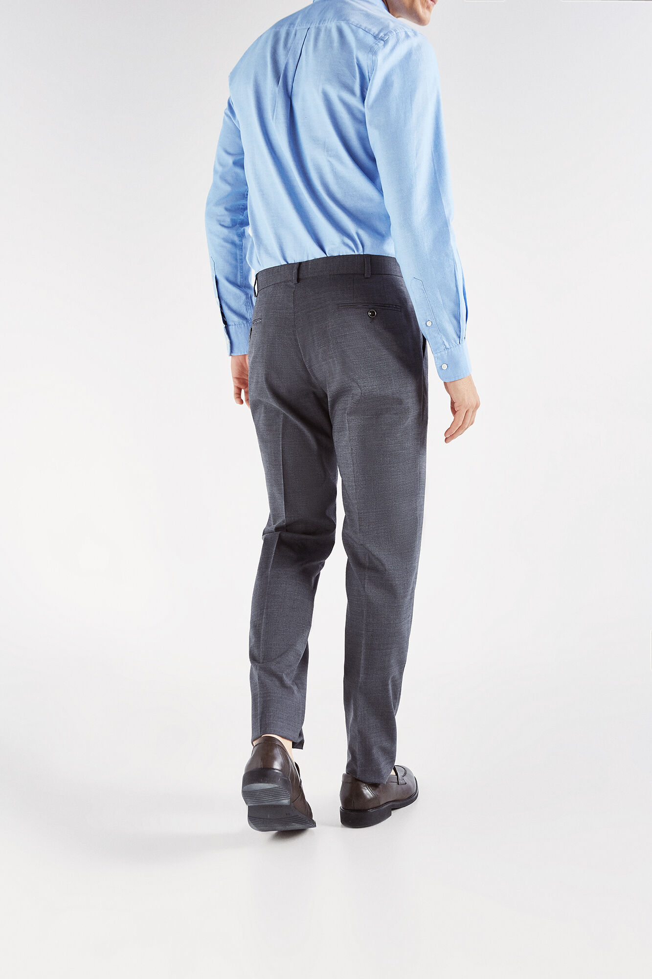 Cortefiel Lana Tailored Fit, Pantalones para Hombre