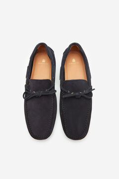 Cortefiel Studded sole loafer Navy