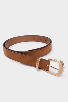 Cortefiel Belt with gold buckle Mole