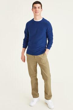 Cortefiel Round neck sweatshirt Navy