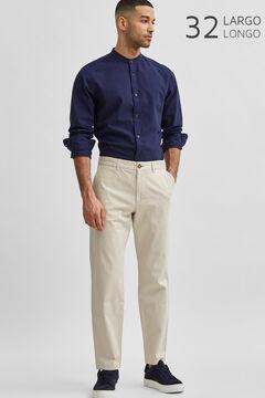 Cortefiel Slim fit trousers Camel