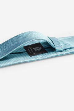 Cortefiel Micro textured tie Burgundy