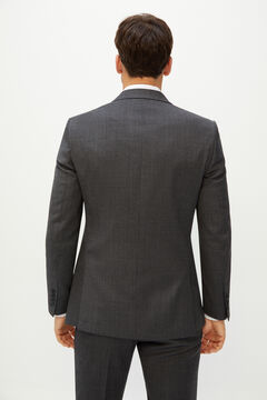 Cortefiel Grey slim fit suit blazer Gray