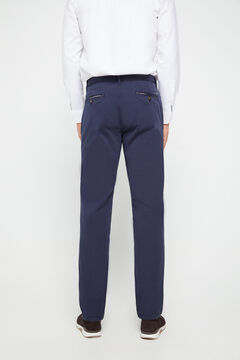 Cortefiel Pantalón chino regular fit ligero Navy