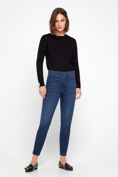 Cortefiel Sustainable wash Sensational jeggings Royal blue