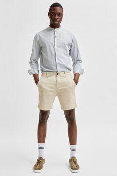 Cortefiel Chino Bermuda shorts Stone