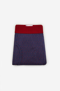 Cortefiel Jersey-knit boxers Blue jeans