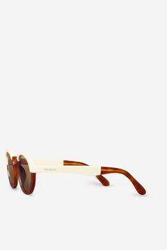 Cortefiel Óculos de sol CREAM/LEO TORTOISE DALSTON  Marrom