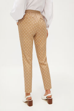 Cortefiel Stretch trousers Beige