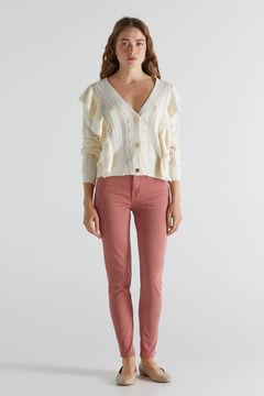 Cortefiel Sculpt fit jeans Pink
