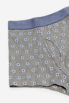 Cortefiel Jersey-knit boxers Gray
