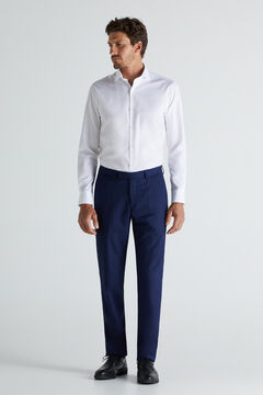 Cortefiel Blue slim fit trousers Bluejeans