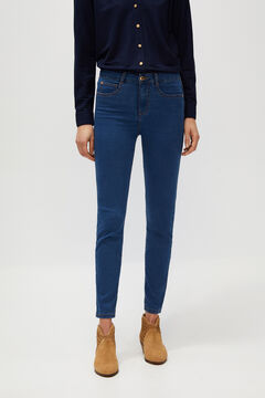 Cortefiel Sensational minimiser jeans Royal blue
