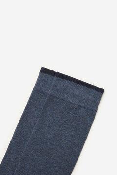 Cortefiel Plain sports socks Bluejeans