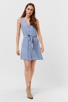 Cortefiel Vestido corto Azul