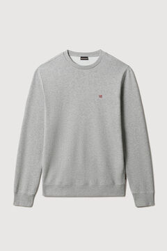 Cortefiel Napapijri BALIS HOOD round neck sweatshirt Gray