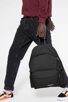 Cortefiel Padded Pak'R Black backpack Black