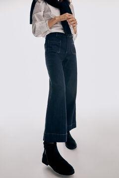 Cortefiel Romely zip boot Black