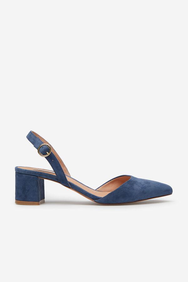 22e255f8 Cortefiel Zapato destalonado colores Azul