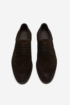 Cortefiel Urban rubber sole shoe Dark brown