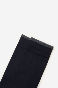 Cortefiel Plain sports socks Navy