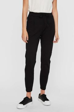 Cortefiel Capri jogging bottoms Black