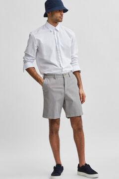 Cortefiel Flex Bermuda shorts Gray
