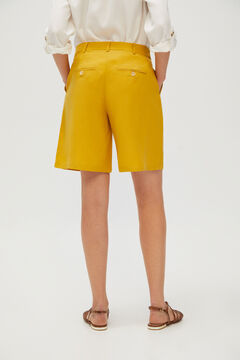 Cortefiel Bermuda shorts Beige