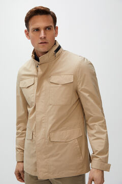 Cortefiel Technical jacket four pockets  Camel