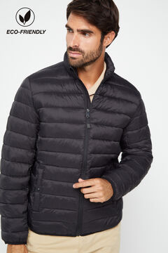Cortefiel Ultralight quilted jacket with Thermolite eco Black