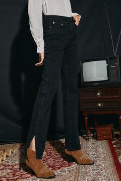 Cortefiel Regular fit jeans Black