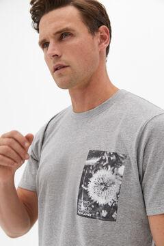 Cortefiel Jersey-knit and cotton pyjamas Gray