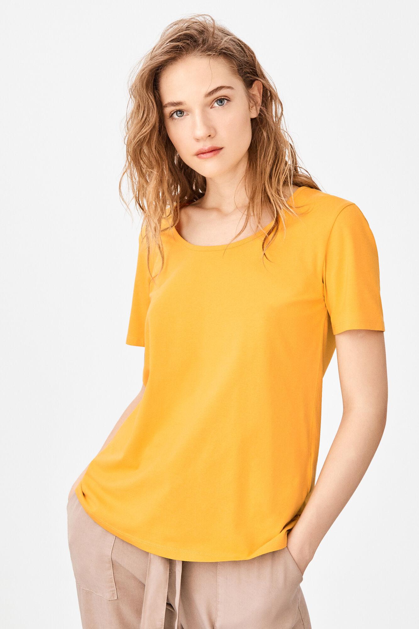 78e02b3b9 Organic square neck t-shirt | T-shirts | Cortefiel Man & Woman