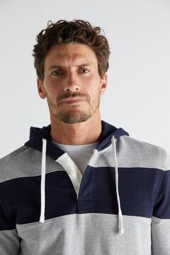 Cortefiel Sweatshirt riscas Azul