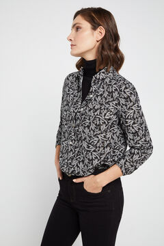 Cortefiel Shirt with pockets Gray
