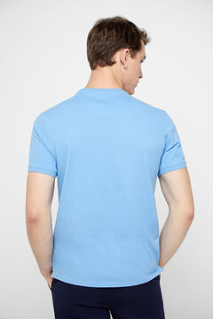 Cortefiel Short-sleeved t-shirt Royal blue