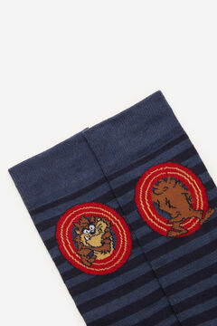 Cortefiel Looney Tunes motif socks Navy