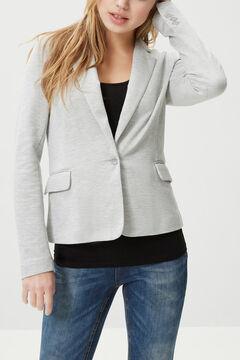 Cortefiel Essential blazer Gray