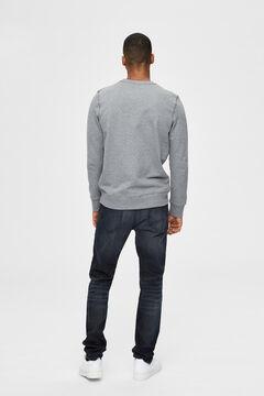 Cortefiel Organic sweatshirt Gray
