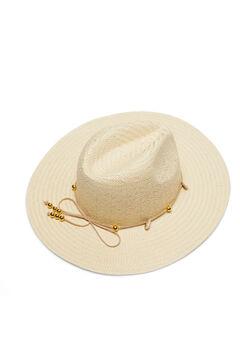 Cortefiel Sombrero conchas Marrón