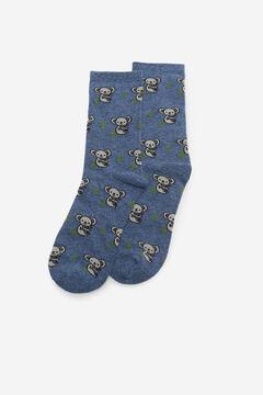 Cortefiel Koala socks Royal blue