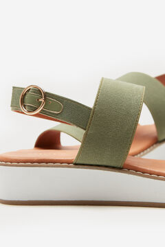 Cortefiel Ultra Light' sandal with wide straps Pink