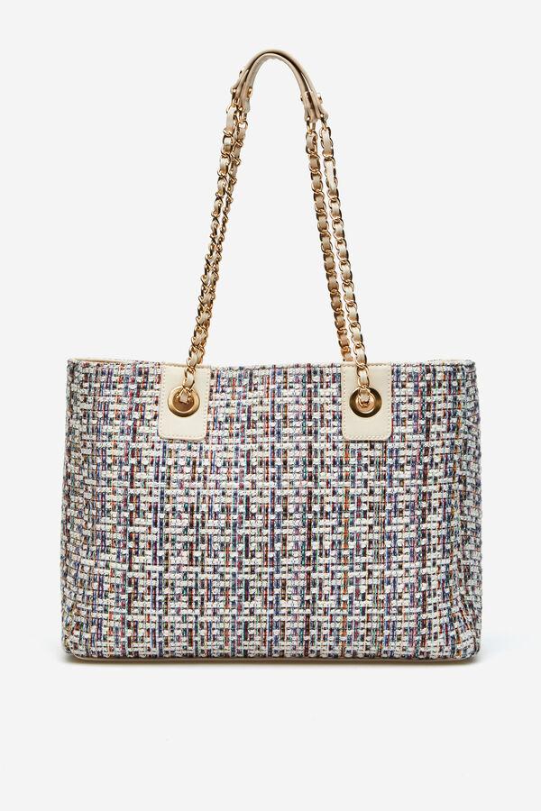 4ffad35c96 Cortefiel Shopper bag Printed