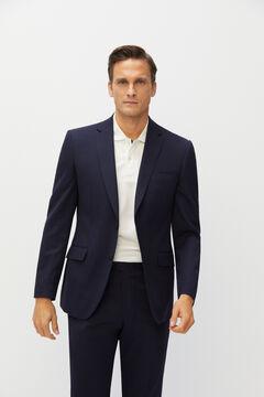 Cortefiel Tailored fit Coolmax® blazer Navy