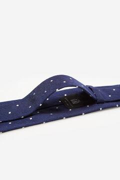 Cortefiel Gravata bolinhas Azul