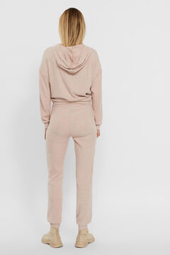 Cortefiel Ribbed trousers Tobaco