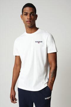 Cortefiel Camiseta S-ICE SS manga corta Napapijri Blanco