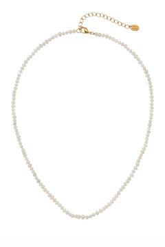 Cortefiel Collar corto VIRINO - Perla - Oro Beige