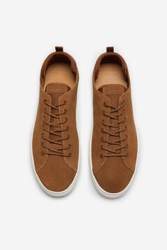 Cortefiel Lace-up sneaker Camel
